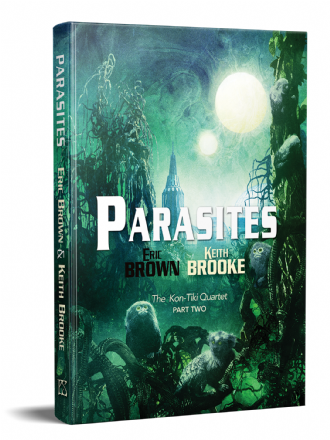 Parasites [hardcover] by Eric Brown & Keith Brooke